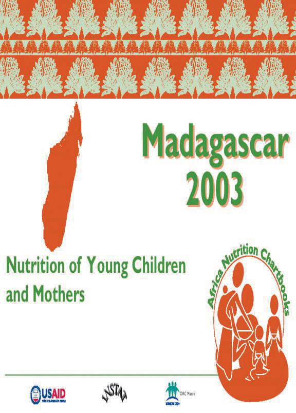 Cover of Madagascar 2003-04, Nutrition of Young Children and Mothers (English, French)