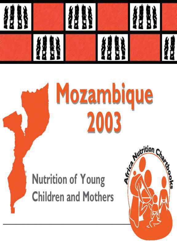 Cover of Mozambique 2003, Nutrition of Young Children and Mothers (English, Portuguese)