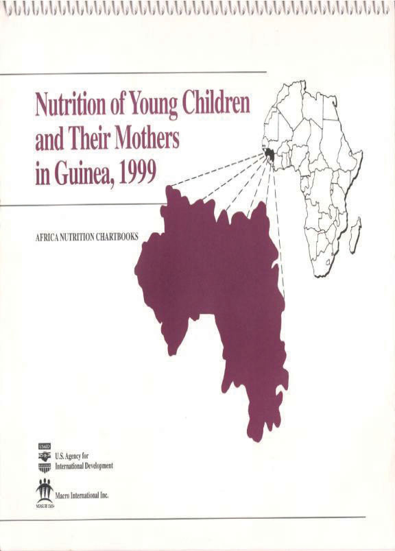 Cover of Guinea 1999, Nutrition of Young Children and Their Mothers (English, French)