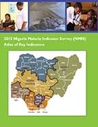 Cover of 2015 Nigeria Malaria Indicator Survey (NMIS) Atlas of Key Indicators (English)
