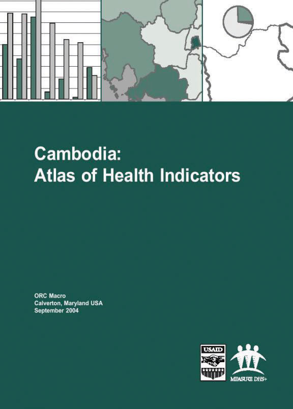Cover of Cambodia: Atlas of Health Indicators (English)