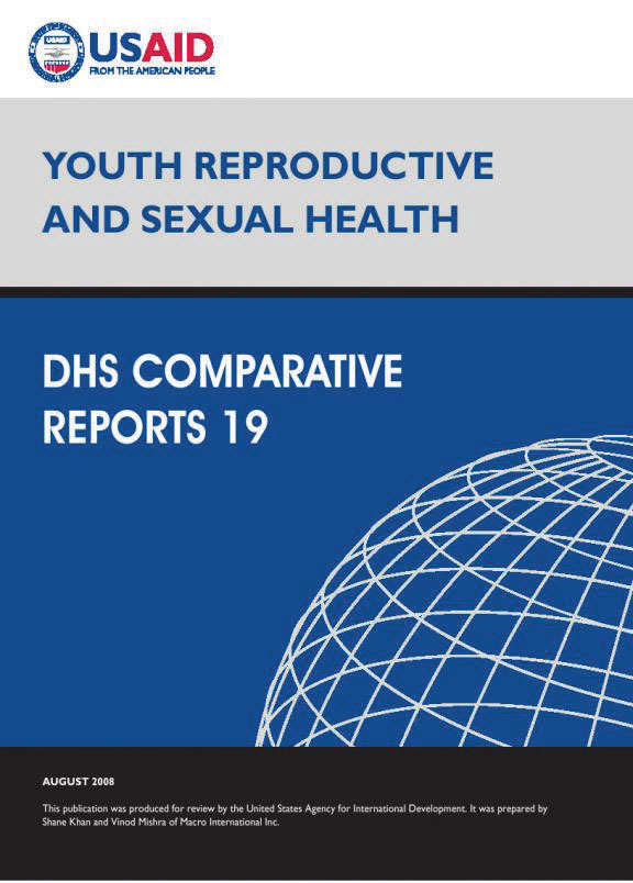 Cover of Youth Reproductive and Sexual Health (English)