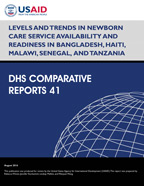 Cover of Levels and Trends in Newborn Care Service Availability and Readiness in Bangladesh, Haiti, Malawi, Senegal, and Tanzania (English)