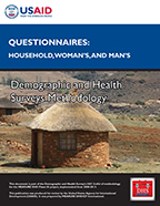 Cover of DHS Questionnaire Modules (English, French)