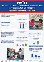 Cover of Haiti 2016-2017 DHS - Adult Health Posters (French)