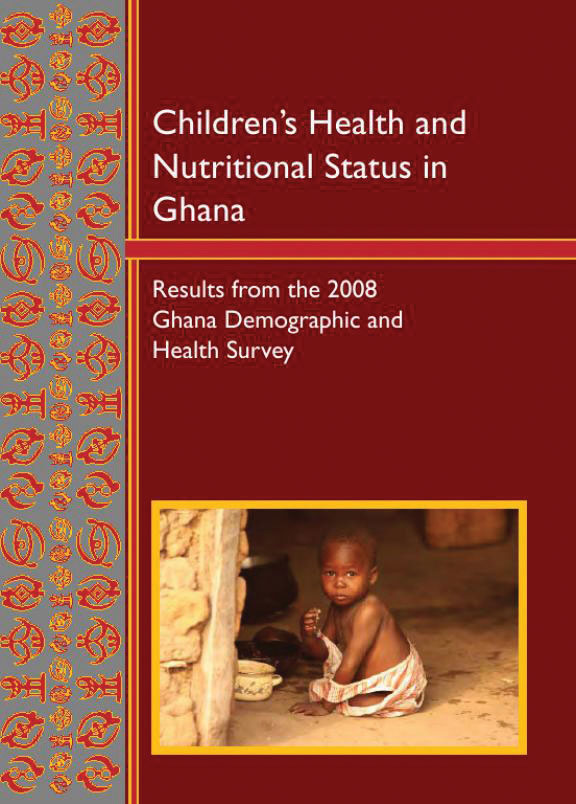 Cover of Children's Health and Nutritional Status in Ghana (English)