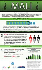 Cover of Mali MIS 2015 - Infographic (French)