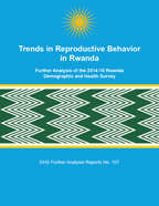 Cover of Trends in Reproductive Behavior in Rwanda (English)