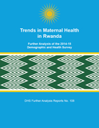 Cover of Trends in Maternal Health in Rwanda (English)