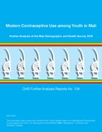 Cover of Modern Contraceptive Use among Youth in Mali (English)