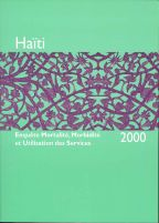 Cover of Haiti DHS, 2000 - Final Report (French)