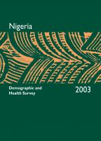 Cover of Nigeria DHS, 2003 - Final Report (English)