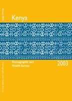 Cover of Kenya DHS, 2003 - Final Report (English)