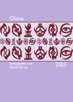 Cover of Ghana DHS, 2003 - Final Report (English)