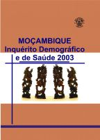 Cover of Mozambique DHS, 2003 - Final Report (Portuguese)