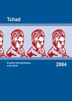 Cover of Chad DHS, 2004 - Final Report (French)