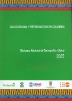 Cover of Colombia DHS, 2005 - Final Report (Spanish)