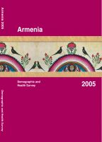 Cover of Armenia DHS, 2005 - Final Report (English)