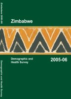 Cover of Zimbabwe DHS, 2005-06 - Final Report (English)