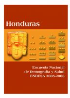 Cover of Honduras DHS, 2005-06 - Final Report (Spanish)