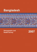 Cover of Bangladesh DHS, 2007 - Final Report (English)
