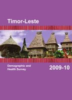 Cover of Timor-Leste DHS, 2009-10 - Final Report (English)