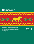 Cover of Cameroon DHS, 2011 - Final Report (French)
