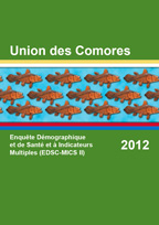 Cover of Comoros DHS, 2012 - Final Report (French)