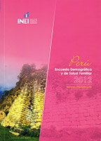 Cover of Peru DHS, 2012 - Final Report Continuous (2012) (Spanish)