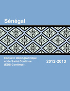 Cover of Senegal DHS, 2012-13 - Final Report Continuous 2012-13 (English, French)