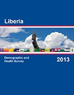 Cover of Liberia DHS, 2013 - Final Report (English)