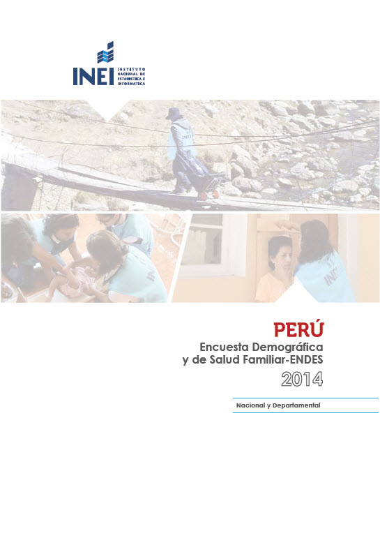 Cover of Peru DHS, 2014 - Final Report Continuous (Spanish)