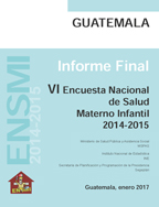 Cover of Guatemala DHS, 2014-15 - Final Report (Spanish)