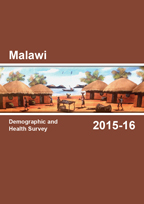 Cover of Malawi DHS, 2015-16 - Final Report (English)