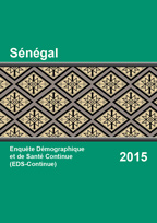 Cover of Senegal DHS, 2015 - Final Report Continuous (French)