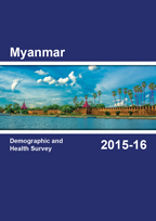 Cover of Myanmar DHS, 2015-16 - Final Report (English)