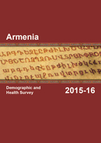 Cover of Armenia DHS, 2015-16 - Final Report (English)