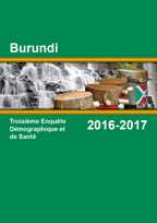 Cover of Burundi DHS, 2016-17 - Final Report (French)