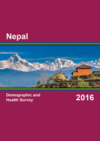 Cover of Nepal DHS, 2016 - Final Report (English)