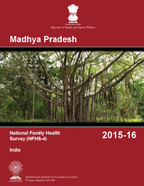 Cover of India DHS, 2015-16 - State Final Reports (English)