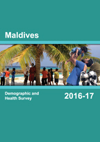 Cover of Maldives DHS, 2016-17 - Final Report (English)