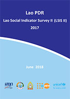 Cover of Lao People's Democratic Republic MICS, 2017 - Lao Social Indicator Survey II 2017 MICS (English)