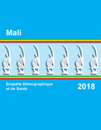 Cover of Mali DHS, 2018 - Final Report (French)