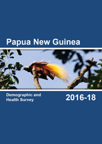 Cover of Papua New Guinea DHS, 2016-18 - Final Report (English)