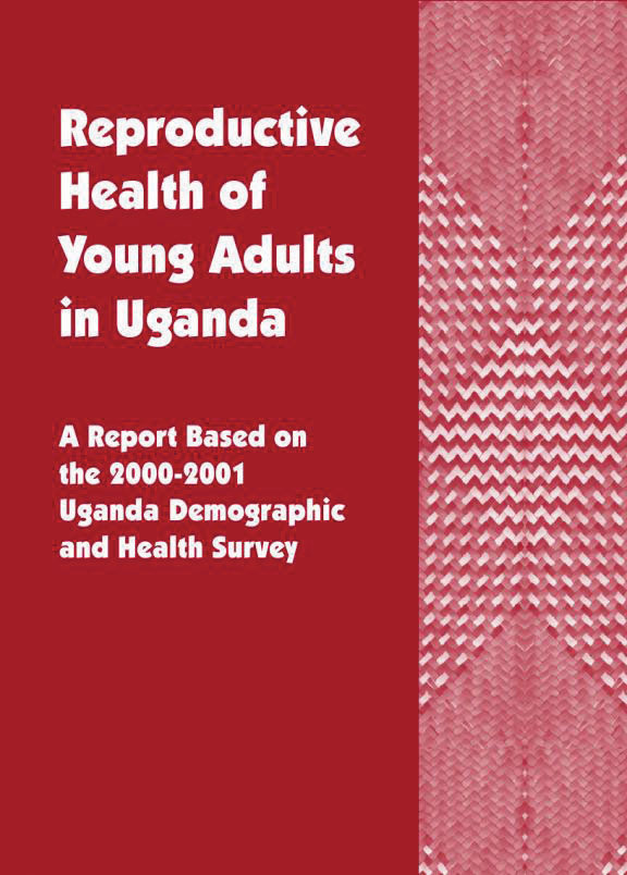 Cover of Reproductive Health of Young Adults in Uganda (English)