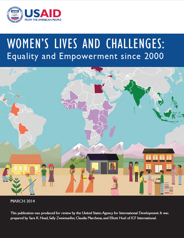 Cover of Women's Lives and Challenges: Equality and Empowerment since 2000 (English)