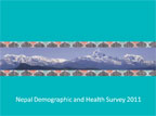 Cover of Nepal: DHS, 2011 - Survey Presentations (English)