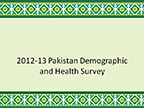 Cover of Pakistan: DHS, 2012-13 - Survey Presentations (English)