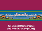 Cover of Nepal: DHS, 2016 - Survey Presentations (English)