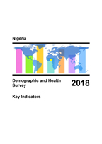 Cover of Nigeria: DHS 2018 Key Indicators Report (English)